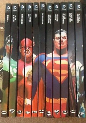 Eagle Moss DC Comics Graphic Novel Collection Sets of 3 books Hardcover