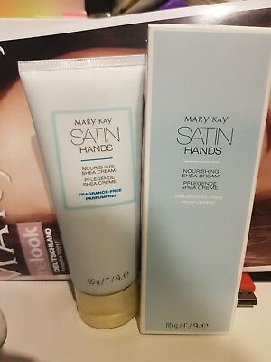 Mary Kay Satin Hands Pflegende Shea Creme Pafümfrei