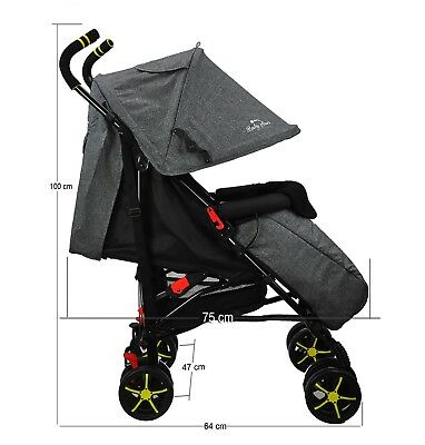 Baby Pushchair Lightweight Baby Stroller Baby Buggy From 6 Months +