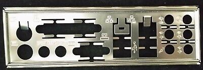 Motherboard Backplate IO I/O shield Plate SPDIF in out with the measurement #5
