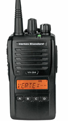 Vertex VX-264 UHF 403-470 MHz Waterproof Portable Hand Held Two Way Radio