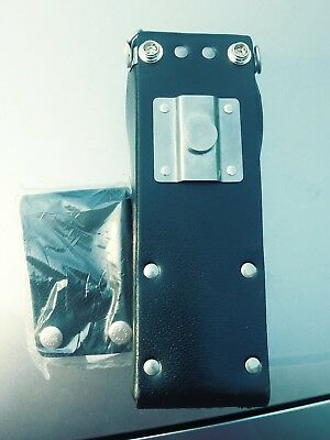 1 New BK 2 piece Leather  Holster  LPH EPH GPH DPH LAA0435 with swivel.
