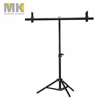 Photography T Backdrop Stand Clamp Kit Screen Studio Lighting Background Support
