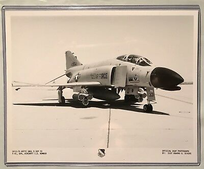 "Photograph: Douglas ""F-4C"" Phantom II #40664 *** USAF ""Official"" 8x10 PHOTO"
