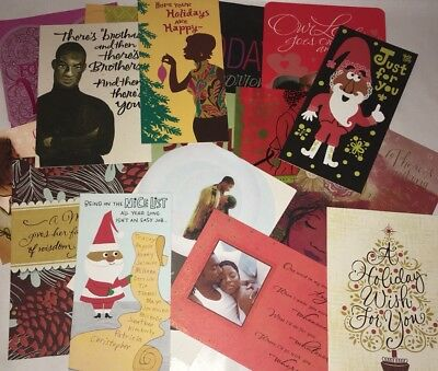 Huge Lot Of 85 Hallmark Mahogany African American Greeting Cards Unused