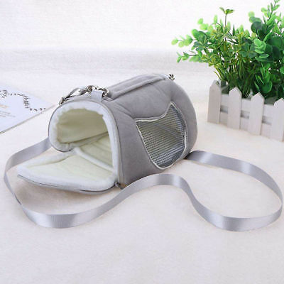 Small Animal Carrier Bag Travel Warm Bag Guinea Pig Pouch Bed
