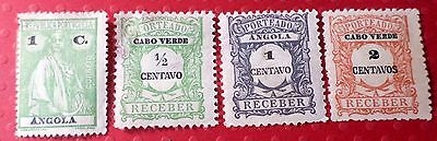 A Collection of Four Angola Stamps MH  S-099