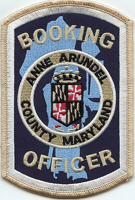 ANNE ARUNDEL COUNTY MARYLAND MD BOOKING OFFICER Corrections DOC POLICE PATCH