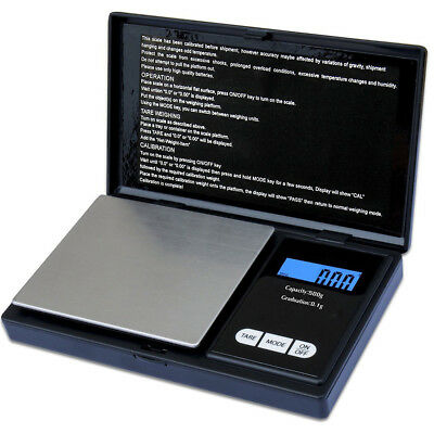 Digital Pocket Weighing Mini Scales Gold Kitchen Jewellery Scale Herbs 0.1g-500g