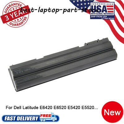Battery for Dell Latitude NHXVW E5420 E5430 E5520 E5530 E6420 E6430 E6520 Power