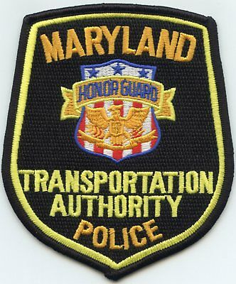 MARYLAND MD STATE TRANSPORTATION AUTHORITY Honor Guard POLICE PATCH