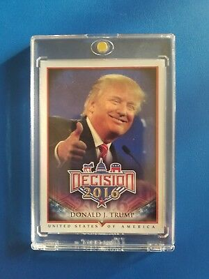 President Donald Trump #6 - Decision 2016 Trading Card