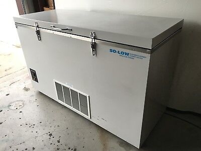 So-Low Ultra Low Chest Freezer C85-17  115V, 17 Cu. Ft, -40°C TO -85°C