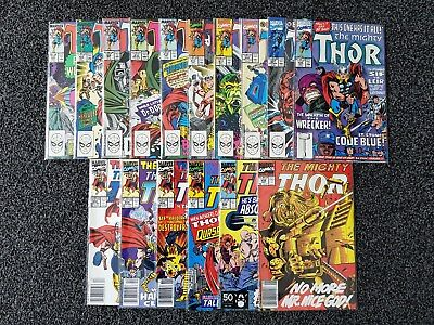 Marvel - The Mighty Thor Vol. 1 Bundle #406 - #440 - 16 Comic Job Lot