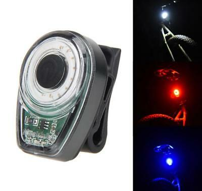 New 1200mAh Bike Rear Light Taillight USB Rechargeable IPX7 Bicycle Warning Lamp