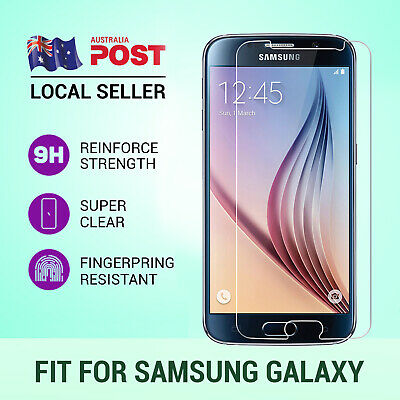 9H Tempered Glass Screen Protector Film For Samsung Galaxy S7 S6 S5 Note 7 5 4