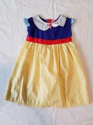 Snow White Princess Dress Halloween Costume Baby Infant 9-12 months