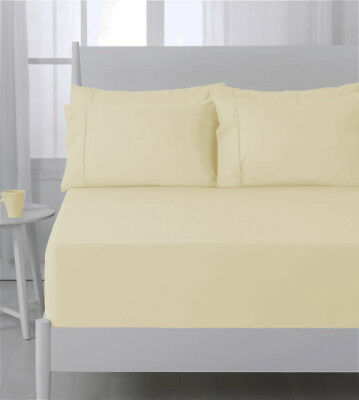 Abrazo Flannelette Fitted Sheet 175GSM Egyptian Cotton by Jenny McLean
