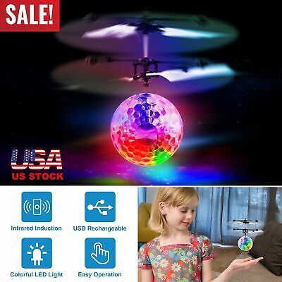 Toys for Boys Flying Ball LED 3 4 5 6 7 8 9 10 11Year Old Age Xmas Boys Cool Toy