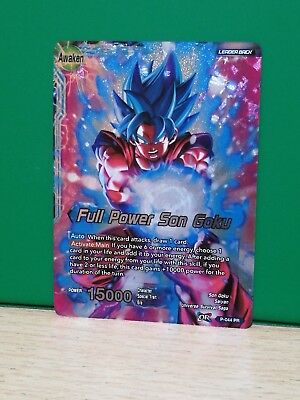 Dragon Ball Super Card Game - P-044 PR Son Goku / Full Power Son Goku