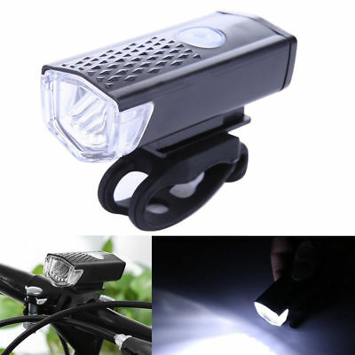 300LM Rechargeable USB LED Bicycle Bike Lamp MTB Front Bicycle Cycling Light