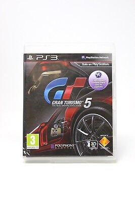 GRAN TURISMO 5  PLAY STATION 3 PS3 Inv-1617