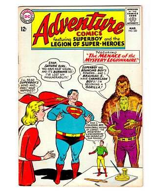 ADVENTURE COMICS #330 in FN a 1965 Silver Age DC comic  SUPERBOY & LEGION LSH