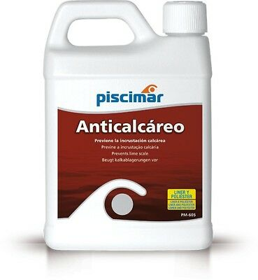 PM-605 Anticalcáreo para piscinas biodegradable. Botella 1.2 kg.