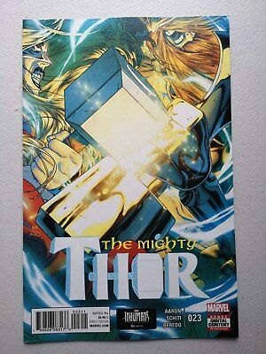 THE MIGHTY THOR #23 - 1st PRINT  MARVEL COMICS 2016