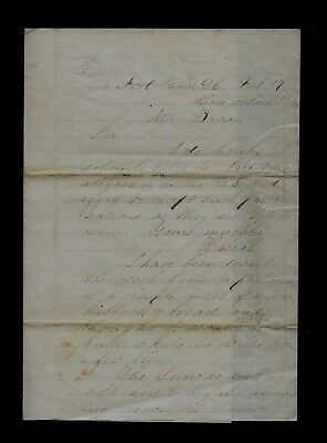 11th Vermont Infantry CIVIL WAR LETTER - Writes of PEACE MOVEMENT with South !