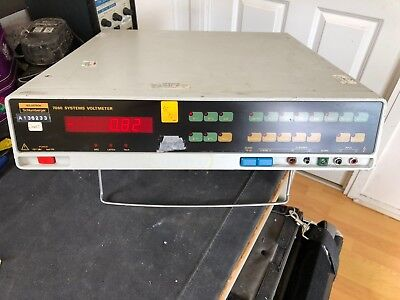 Schlumberger Solartron Model 7060 Systems Voltmeter (3)