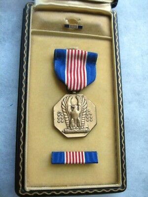WWII Cased Soldiers Medal