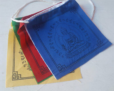 Medicine Healing Buddha Prayer Flags