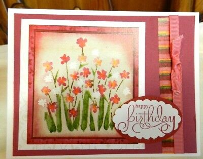 Greeting Cards Handcrafted BIRTHDAY 425 X 55 With Envelope NEW