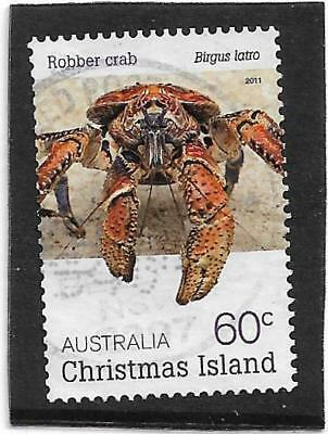 Christmas Island 2011 Crabs Fine Used