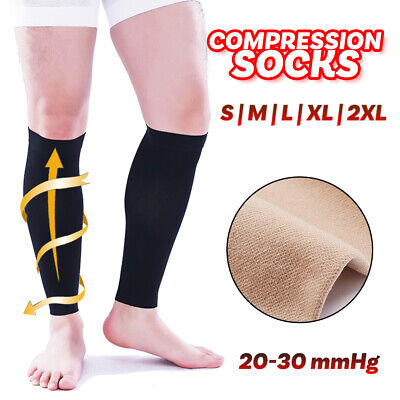 2 Pairs Medical Compression Socks Varicose veins Anti Fatigue Unisex Travel DVT
