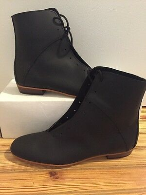 High Country, Size 7.5D WOMENS Clogging Tap Dance boots, Shoes, (no Taps) Black