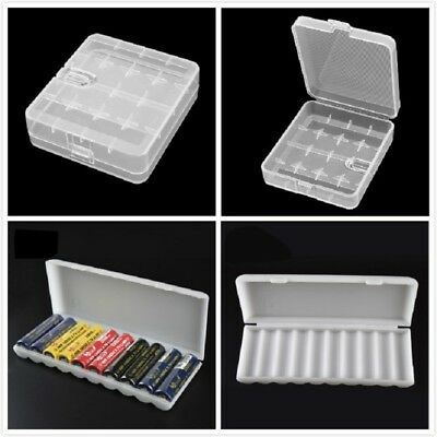 Battery Storage Box Case Organizer Holder Container for 18650 AAA AA Batteries