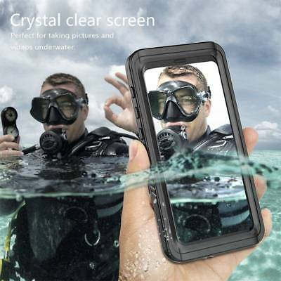 Slim Waterproof Case Dirt/Shock Proof Clear Cover For Samsung Galaxy S9/S9 Plus