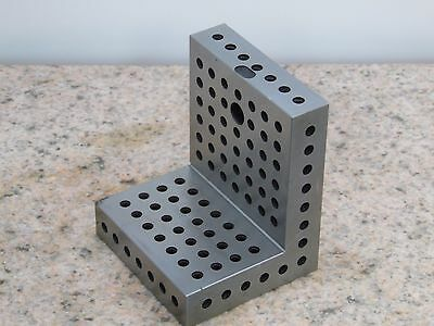 ANGLE PLATE MACHINIST TOOLMAKER HARDENED GRIND FIXTURE 4 9/16x3 19/32x3 7/8