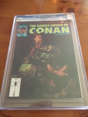 The Savage Sword Of Conan 175 CGC 9.6 Dorian Cover Awesome Rare !!!