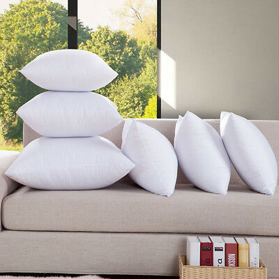 New Aus Made Cotton Cover/Polyester Filling Euro Square Cushion Pillow Inserts 1