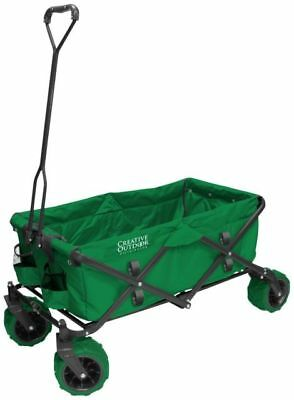 Portable Camping Trolley Folding Wheeled Festival Carry Cart