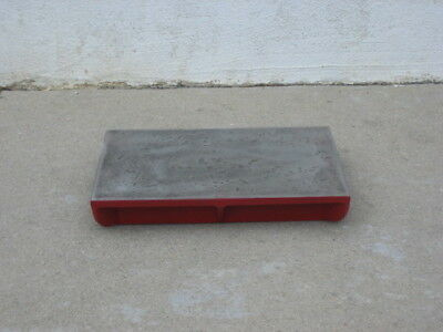 """Machinist Cast Iron Surface Plate 1/2"""" thick top 12""""x16"""" 40lbs"""