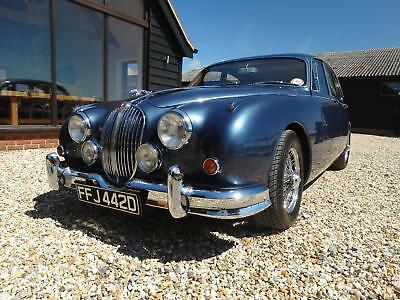 1966 JAGUAR MK 2 MANUAL 4.2 injection with overdrive ,