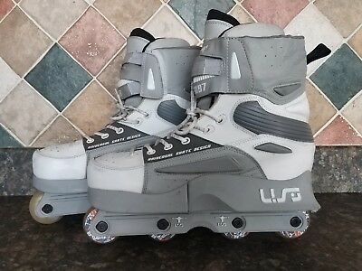 SUPERB EXAMPLES USD 97 Mens UK 9.5 Aggressive Park Street Inline Skates Blades