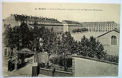 CPA - Caserne Bougenel - Cachet  -  Belfort 90 - Militaire - Militaria