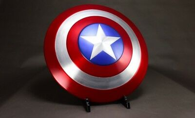 Captain America Shield 1:1 Made of Aluminum Alloy Shield  Cosplay props