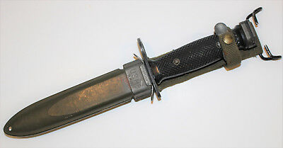 Us Army M7 Bayonet By Boc Bauer Ord Corp With Usm8 Scabbard Ref#b5