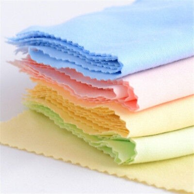 10X Microfiber Cleaning Cloth For Tablet Phone LCD Screen Camera Lens Glasses JO